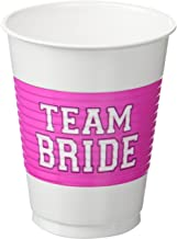 Team Bride Plastic Cups | Wedding and Engagement Party