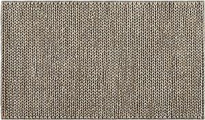 Creative carpets, Alfombra Yute, Tappeto, Grigio Chiaro, 80 x 120 cm