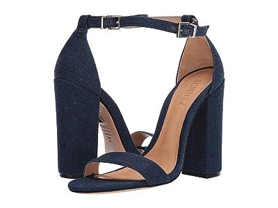 Schutz Enida (Blue Denim) High Heels
