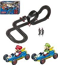 Carrera GO!!! 62492 Mario Kart Mach 8 Electric Slot Car Racing Track Set 1:43 Scale feat. Mario and Luigi