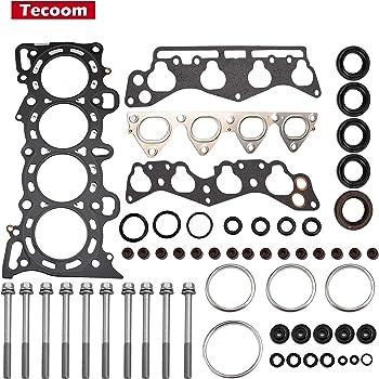 Tecoom HS9915PT-1 Cylinder Head Gasket Set w/Bolts for 1996-2000 Honda Civic 1.6L Engine