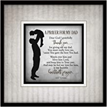 Dexsa Prayer for My Dad Simple Expressions Wood Plaque with Easel