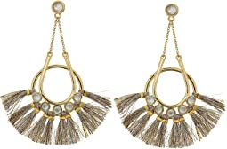 Rebecca Minkoff Utopia Tassel Chandeliers Earrings