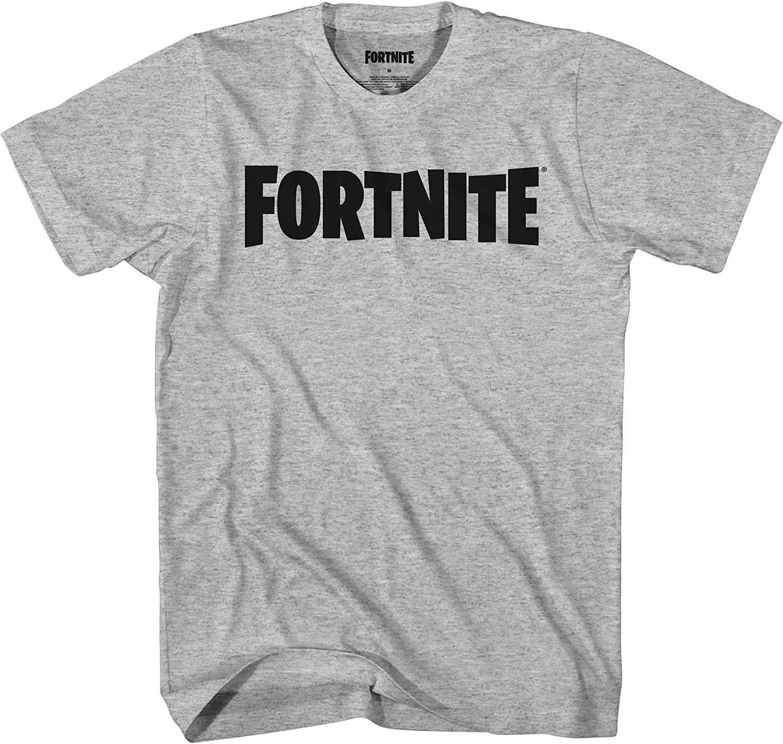 Mad Engine Fortnite Logo Boys Short Sleeve T-Shirt