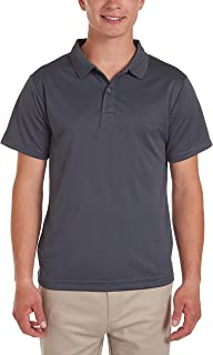 IZOD Uniform Young Men's Short Sleeve Performance Polo Shirt