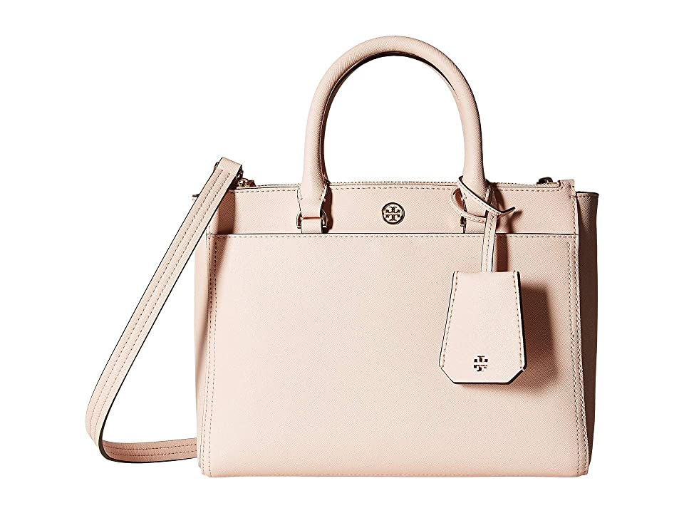 df9db775fc5c UPC 190041785582 product image for Tory Burch Robinson Small Double-Zip Tote  (Pale Apricot ...