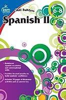 Carson Dellosa | Skill Builders Spanish II Workbook | Grades 6–8, Printable