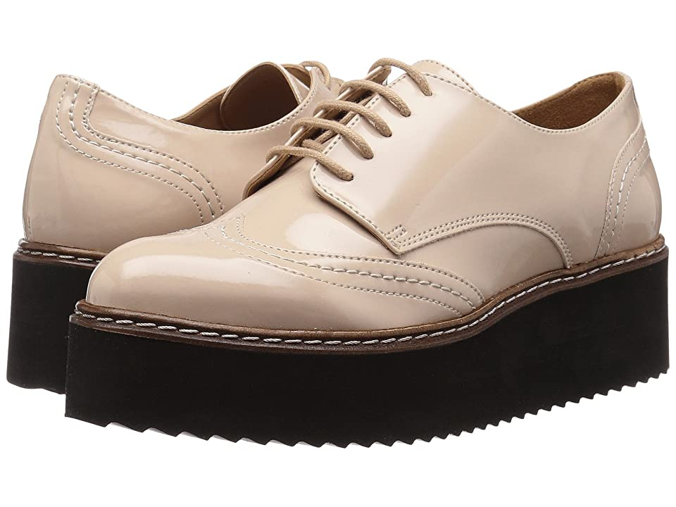 Shellys London Tommy Platform Oxford (Nude) Women