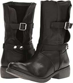 Biker Boot with Buckle