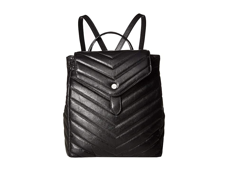 Lodis Accessories - Lodis Accessories Carmel Hermione Small Backpack , Black