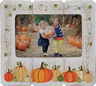 Neil Enterprises Inc. Fall Picture Frame (Pumpkin, 6
