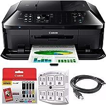 Canon PIXMA MX922 Wireless Inkjet Office All-in-One Printer (MX922, Warranty Ink Kit)
