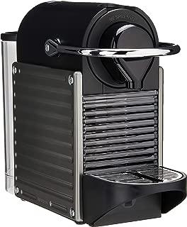 Breville-Nespresso USA BEC450TTN1AUC1 Pixie Espresso Machine, Titan + Aeroccino