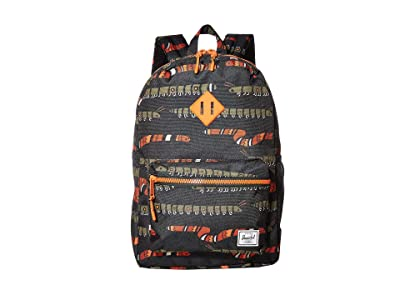 Herschel Supply Co. Kids Heritage Youth XL Backpack (Youth) (Creepers Black) Backpack Bags