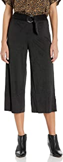 Kensie womens Stretch Suede Culotte Pants Pants