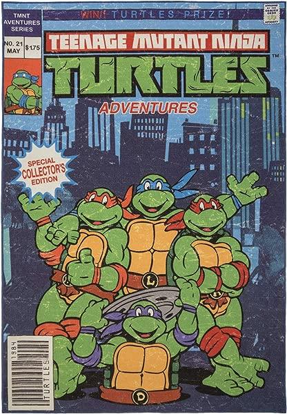 Gertmenian Nickelodeon Ninja Turtles Rug TMNT Carpet 5x7 Large Blue