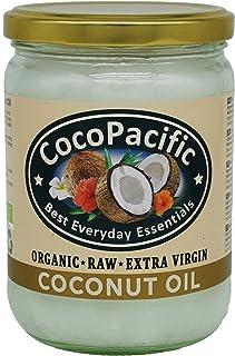 CocoPacific - Aceite de coco virgen extra bio y crudo, 500 ml