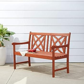 h and m home decor.htm amazon com vifah v1493 outdoor wood garden bench  decorative  vifah v1493 outdoor wood garden bench
