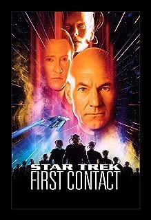 Wallspace Star Trek First Contact - 11x17 Framed Movie Poster
