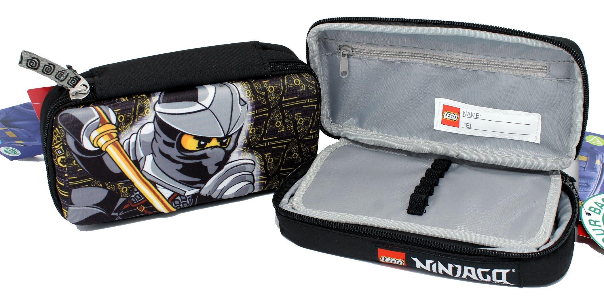 Estuche Organizzato 3d Cole Ninjago Lego: Amazon.es: Oficina y papelería