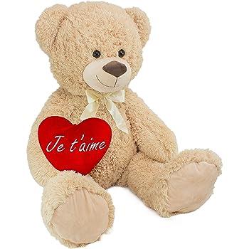 Sweety Toys 9008 oso de peluche valentine 60 cm