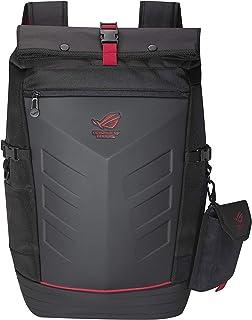 Asus ROG Ranger Backpack Gaming Mochila (para portátiles de hasta 17Pulgadas, Bolsillo Extra para Accesorios, Impermeable, Acolchada), Color Negro