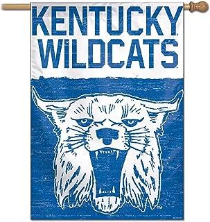 Kentucky Wildcats Vault Throwback Retro Vintage House Flag