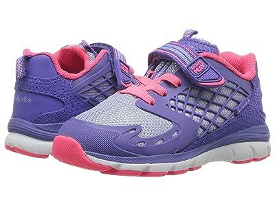 Stride Rite M2P Cannan (Toddler) (Blue/Pink) Girls Shoes