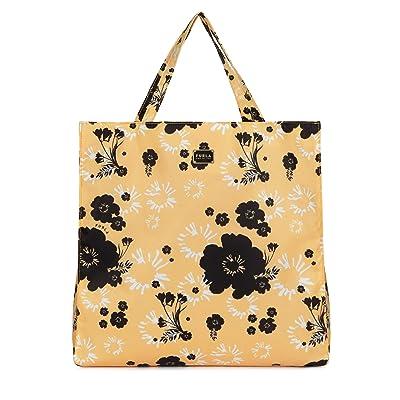 Furla Digit Large Tote (Toni Sole) Handbags