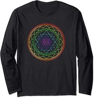 Sacred Geometry Psychedelic Shirt: Chakra Sri Yantra Mandala