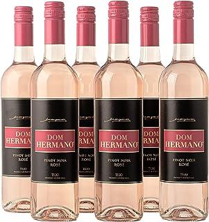 Dom Hermano - Pinot Noir - Roséwein trocken - Sommer Wein - Wein passt zu Meeresfrüchte - 6 Flaschen 6 x 0,75l - Wein Geschenk für Frauen- Portugiesischer Wein - IGP Tejo