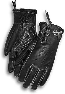 Harley Davidson Women's Swingback Distressed Full-Finger Gloves