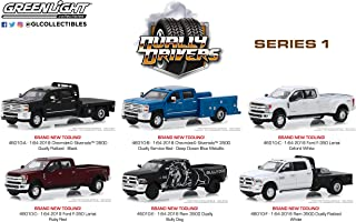 Greenlight 46010 1: 64 Dually Drivers Series 1 (6-Car Set) - New Tooling