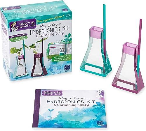 bajo precio del 40% Learning Resources Nancy B's Science Club Way to to to Grow Hydroponics Kit and Gardening Journal  ahorrar en el despacho
