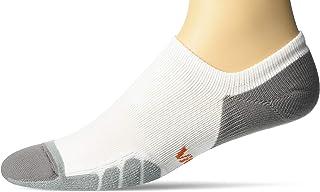 Eurosock Vitalsox By Eurosock Court Sport No Show White/Silver XL (Men's Shoe 11-14)