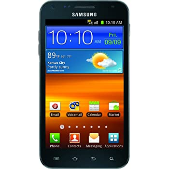 Samsung Galaxy S II Epic Touch 4G Android Phone, Black (Sprint)