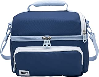 BUILT Willis Insulated Lunch Box, 11-Inch, Blue