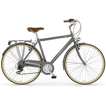 MBM Boulevard Bicicleta de Paseo, Hombre, Titanio, 50 Centimeters ...