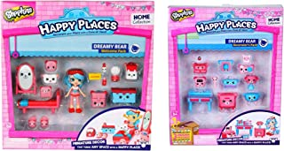 Shopkins Happy Places Bundle - Dreamy Bear Welcome and Decorator Pack