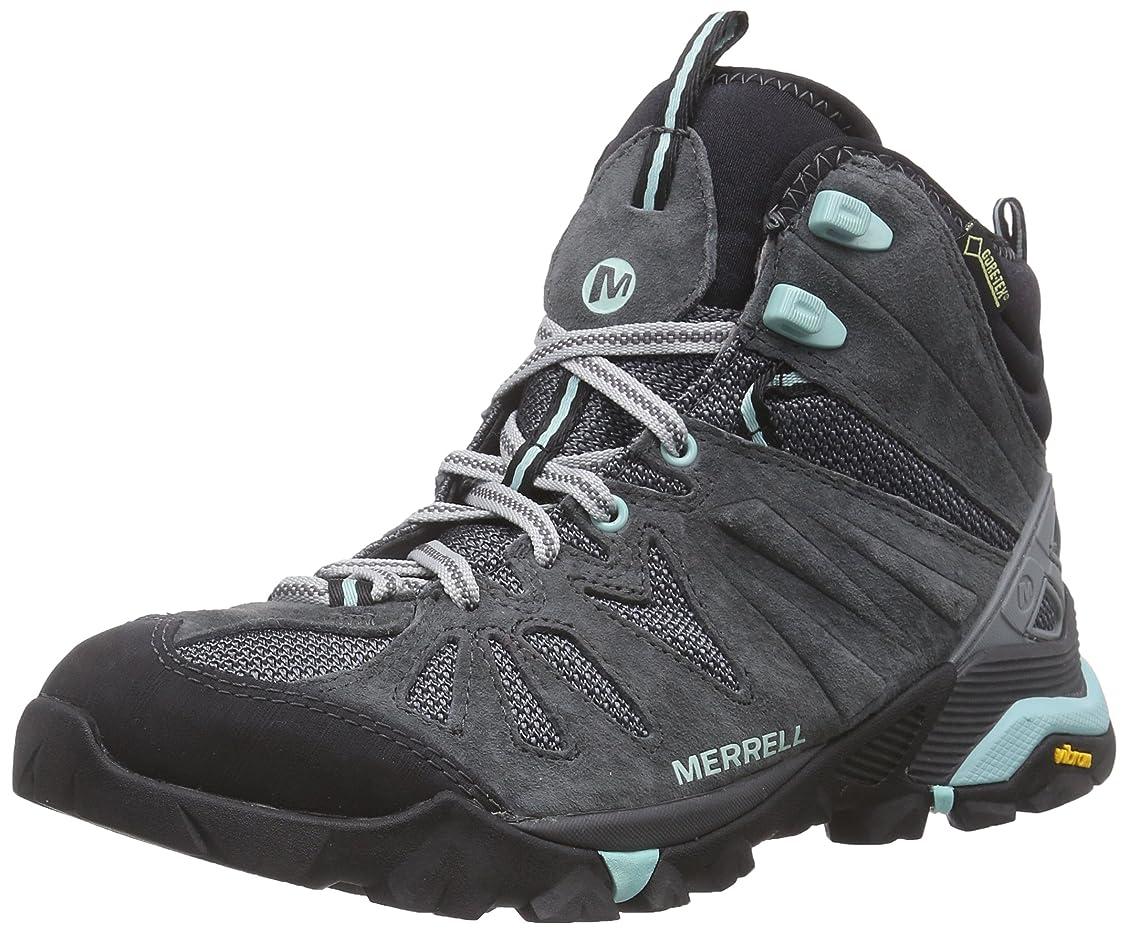 スノーケル層摂動[メレル] Capra Mid Gore - Tex Women 's Walking Boots?–?ss17