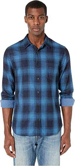 Double Face Plaid Long Sleeve