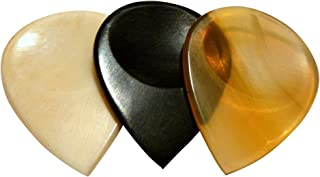 US Blues T3-GripEX Samplers Grip Exotic Trilogy Bone/Horn Guitar Picks