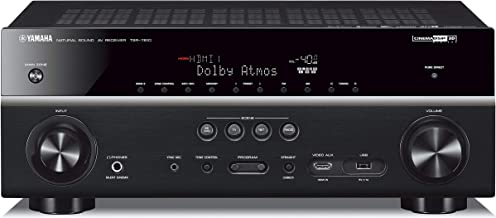 Yamaha TSR-7810 7.2 ch 4K Atmos DTS Receiver (Renewed)