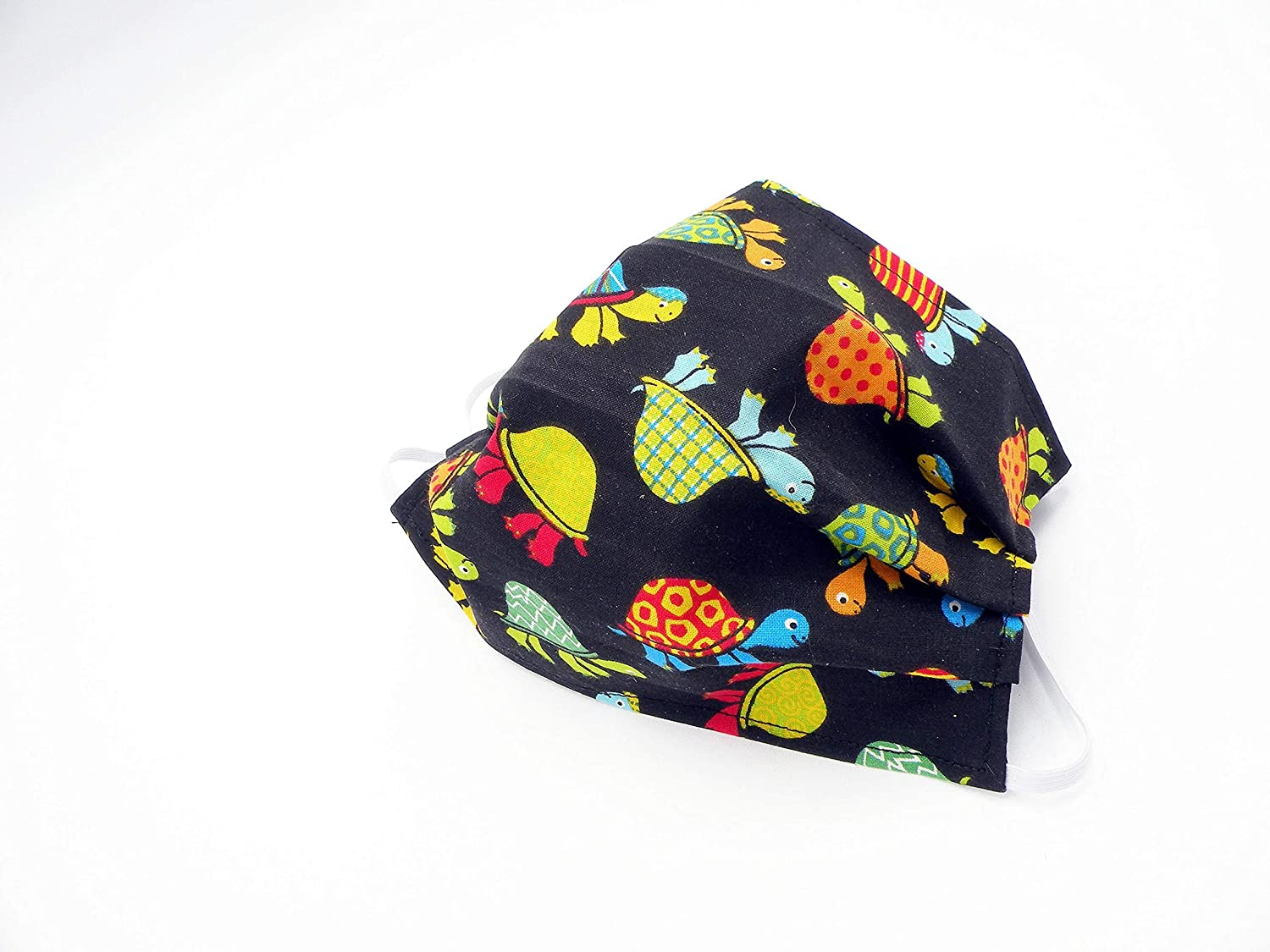Tossed Turtles Cloth Face Mask Washable and unisex has Slit fo Cheap mail order sales Reusable