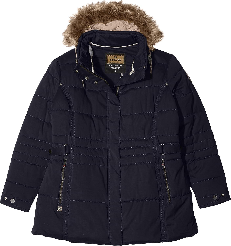(50, dunkelnavy)  Killtec Women's Jacket with ZipOff Hood Casual Adda, Womens, Casual Funktionsjacke In Daunenoptik mit Abzipbarer Kapuze Adda