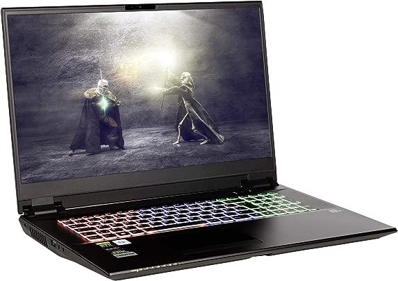 NEXOC Gaming Notebook Laptop 17 3 Zoll Full HD 144Hz mit i7-8750H 2 20GHz RTX 2070 8GB 250GB SSD 1TB HDD 32GB DDR4 RAM Windows 10 G1744 Schätzpreis : 2.119,00 €