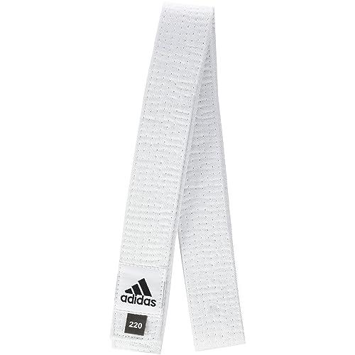 new product 5fe94 74f67 adidas ADIB220D Club - Cinturón acolchado de algodón blanco blanco  Talla 260 cm