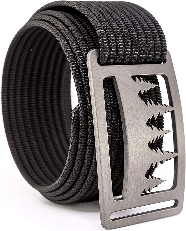 GRIP6 Naturalist Women & Men's Belts Casual- Nylon Belt & Belt Buckles Made In The USA