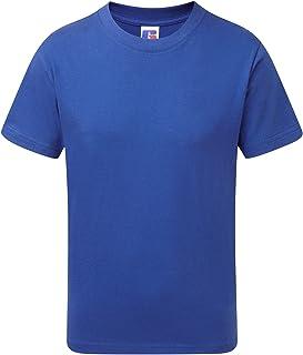 comprar comparacion Jerzees Schoolgear - Camiseta de Manga Corta Modelo Slim Firt para niños