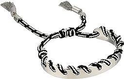 Rebecca Minkoff - Climbing Rope Whipstitch Skinny Cuff Bracelet